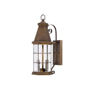 Savoy House Regent 2 Light Outdoor Wall Lantern