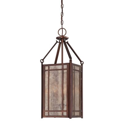 Savoy House Lovett 3 Light Foyer Pendant