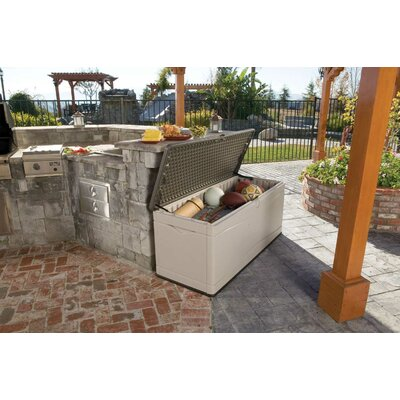 Lifetime HDPE Polyethylene Plastic Deck Box