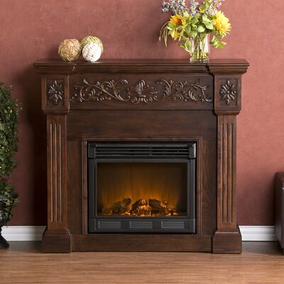 Wildon Home ® Curtis Electric Fireplace