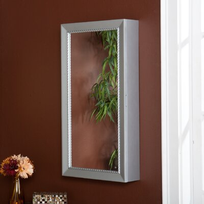 Wildon Home ® Grace Wall Mount Jewelry Mirror