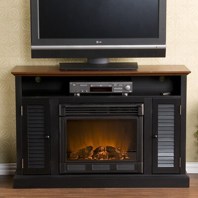 "Wildon Home ® Fox 50"" TV Stand with Electric Fireplace"