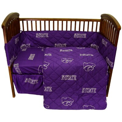 College Covers Kansas State Crib Bedding Collection