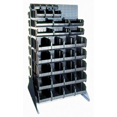 Quantum Storage Conductive Double Sided Louvered Rack
