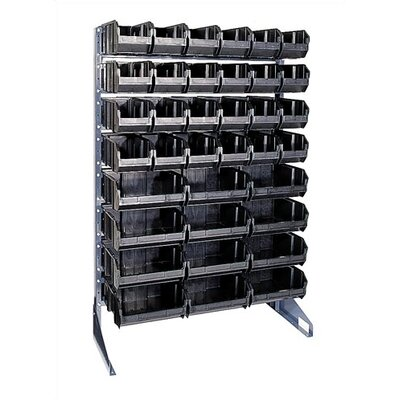 Quantum Storage Conductive Single Sided Steel Rail Rack