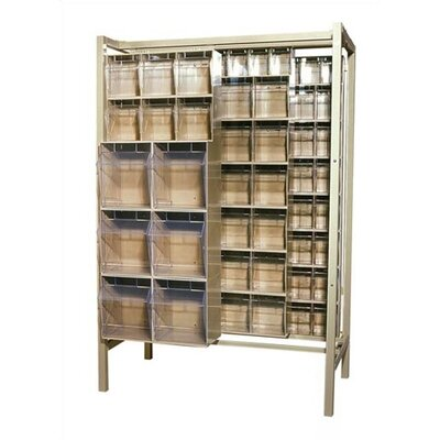 "Quantum Storage BIG 26"" Free Standing Slider Storage System Tip Out Bins"