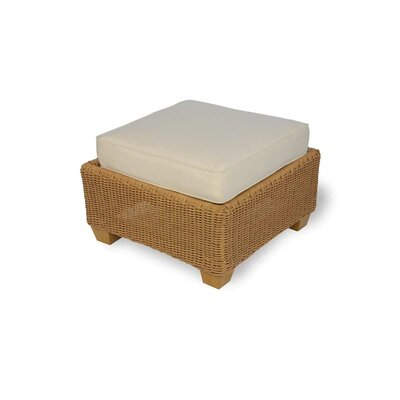 Lloyd Flanders Napa Ottoman with Cushion