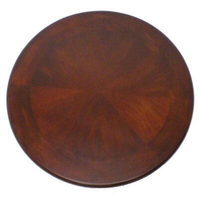 Boraam Industries Inc Florence Pedestal Pub Table in Cherry