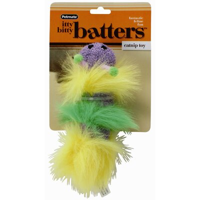 Petmate Mini Size Itty Bitty Batters Catnip Cat Toy
