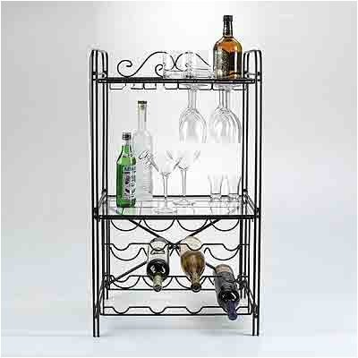 Concept Housewares 8 Bottle Wine Rack