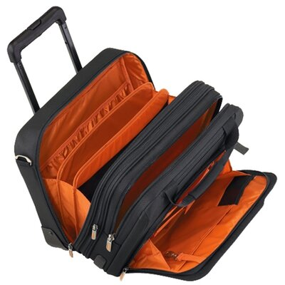 Briggs & Riley Verb Span Expandable Rolling Briefcase in Black