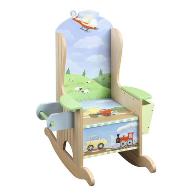 Teamson Kids Transportation Potty Kid's Rocking Chair