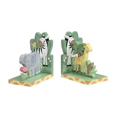 Teamson Kids Sunny Safari Book Ends