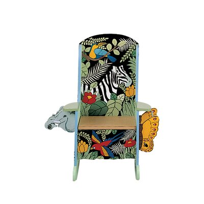 Potty Jungle Themed Kid's Rocking Chair