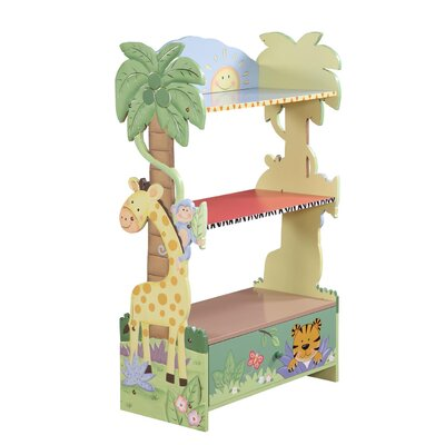 Teamson Kids Sunny Safari Bookcase