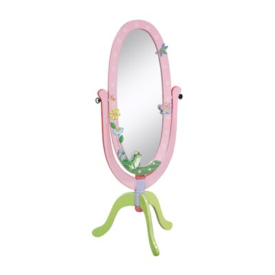 Teamson Kids Magic Garden Children's Standing Mirror