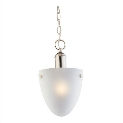 Sea Gull Lighting Metropolis 1 Light Fluorescent Convertible Pendant