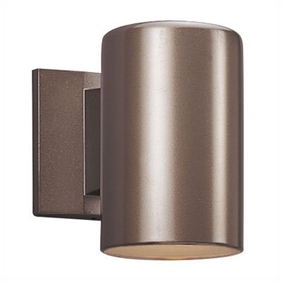 Sea Gull Lighting  Bronze Outdoor Wall Sconce