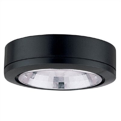 Ambiance LX Linear Track Lighting Accent Disk Light in Black
