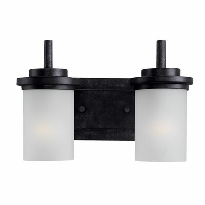 Sea Gull Lighting Winnetka  Vanity Light in Blacksmith