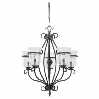 Sea Gull Lighting Manor House 5 Light Chandelier