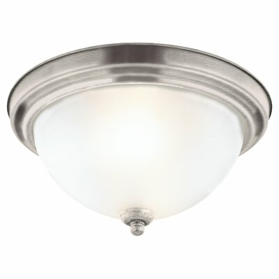Sea Gull Lighting Montclaire 1 Light Flush Mount