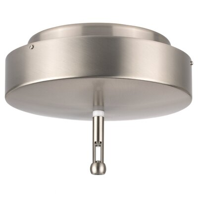 Sea Gull Lighting RTx Surface Mount Power Feed with Transformer in Brushed Stainless Steel