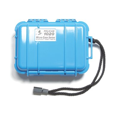 "Pelican Products Micro Case: 4.75"" x 6.5"" x  2.13"""