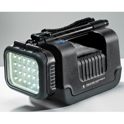 Pelican Products 1 Head 12 Volt Battery LED Remote Area Lighting System Lantern