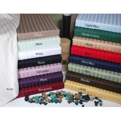 Simple Luxury 300 Thread Count Striped Sheet Set