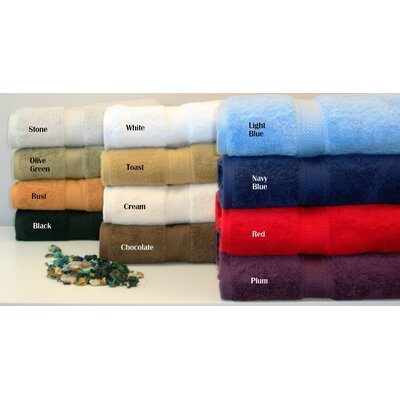 Simple Luxury Luxurious Egyptian Cotton 900gsm 6 Piece Towel Set