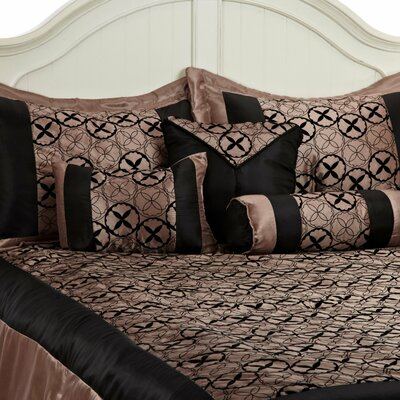 Simple Luxury Giovanni 7 Piece Bed in a Bag Set