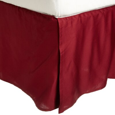 Simple Luxury 300 Thread Count Egyptian Solid Bed Skirt