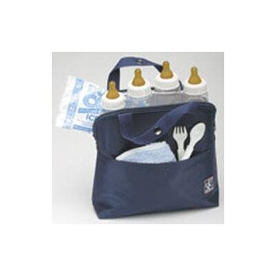 JL Childress Maxicool 4 Bottle Cooler Bag in Navy
