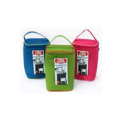 JL Childress Tall TwoCOOL 2-Bottle Cooler Bag in Bright Pink