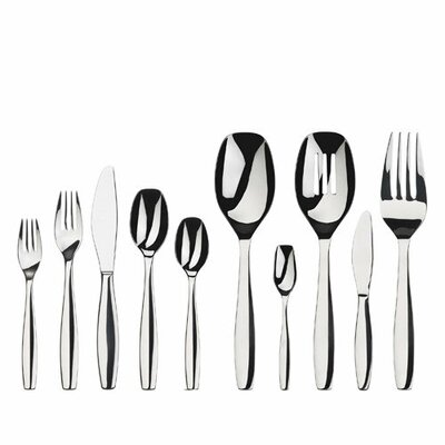 Gourmet Settings Cruise 45 Piece Flatware Set