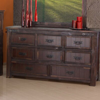 Artisan Home Furniture Cordoba 1080 Distressed 8 Drawer Dresser