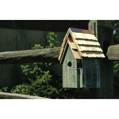 Blue Bird Manor Bird House