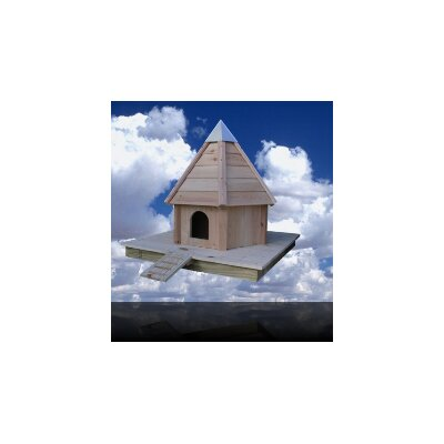 Heartwood Aqua Duck House with Cypress/Wooden Roof