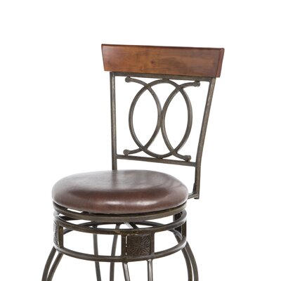 "Linon 30"" O & X Bar Stool"