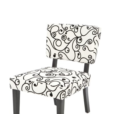 Linon Taylor Fabric Slipper Chair