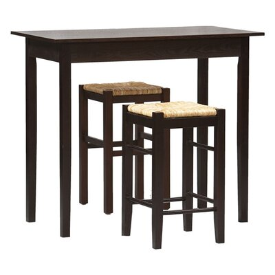 Tavern 3 Piece Counter Height Dining Set