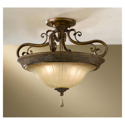 Feiss Celine Semi Flush Mount