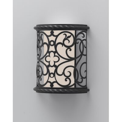 Feiss Chameleon One Light Outdoor Wall Sconce in Black