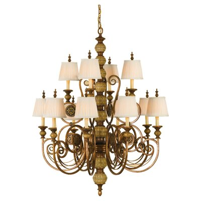 Feiss Florentine Dome 12 Light Chandelier