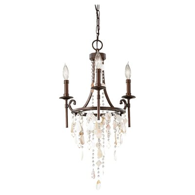 Cascade 3 Light Mini Chandelier