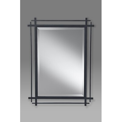 Feiss Ethan Mirror in Antique Forged Iron