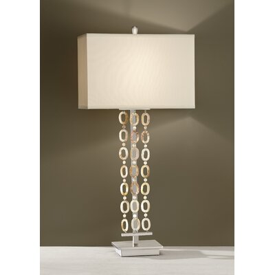 Feiss Independents One Light Table Lamp in Brushed Nickel