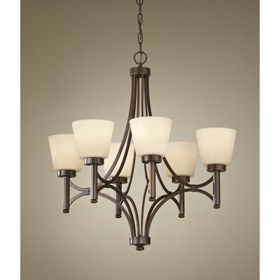 Feiss Nolan 6 Light Chandelier
