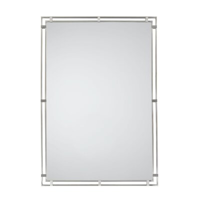 Feiss Parker Place Mirror in Brushed Steel